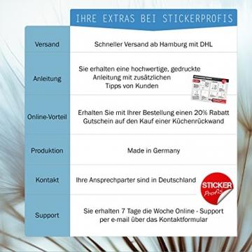 StickerProfis Türtapete selbstklebend TürPoster - BÜCHERREGAL - Fototapete Türfolie Poster Tapete - 9