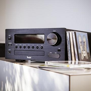 Teufel Kombo 42 BT (2017) Schwarz Regal-Lautsprecher Sound bassreflex 2-Wege HiFi Hochtöner Lautsprecher high end HiFi Speaker - 7
