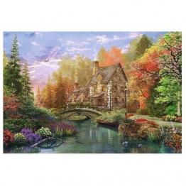 Trefl Dominic Davison: Cottage by the Lake 1500 Teile Puzzle Trefl-26136