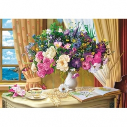 Trefl Flowers in the Morning 1000 Teile Puzzle Trefl-10526