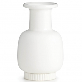 Vase Nyhavn small, weiss