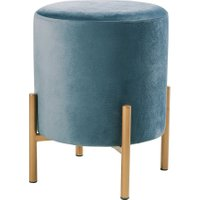 VELVET MOMENTS Hocker Samt