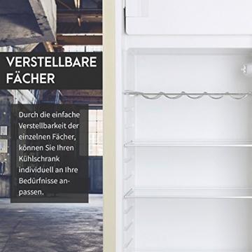 Vintage Industries ~ Retro-Kühlschrank Havanna in creme beige | 50er Jahre Look | Größe 152,5 cm | Kühl-Gefrier-Kombination 302l | Getränke-Kühlschrank mit Gefrierfach/Gefrierschrank 21l - 6