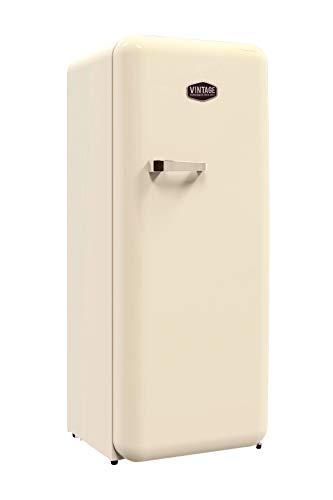 Vintage Industries ~ Retro-Kühlschrank Havanna in creme beige | 50er Jahre Look | Größe 152,5 cm | Kühl-Gefrier-Kombination 302l | Getränke-Kühlschrank mit Gefrierfach/Gefrierschrank 21l - 1