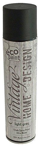 Vintage Kreide Spray hellgrau 400ml Kreidefarbe Chalk Paint Shabby Chic Landhaus Stil Vintage Look - 1