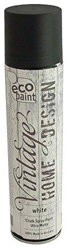 Vintage Kreide Spray weiß 400ml Kreidefarbe Chalk Paint Shabby Chic Landhaus Stil Vintage Look - 1
