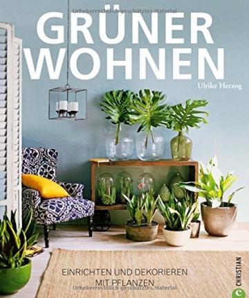 Grüner Wohnen. Einrichten + dekorieren mit Pflanzen