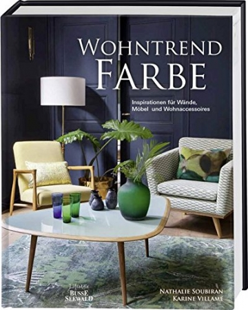 wohntrend farbe inspirationen f r w nde m bel und. Black Bedroom Furniture Sets. Home Design Ideas