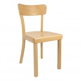 Yunic - Frankfurter Stuhl 2.0 - Buche/geölt/BxHxT 44x82x49cm/max. 110kg belastbar