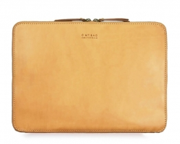 Zipper laptop Sleeve 15´´ Eco-Classic Natural